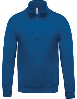 SWEAT COL ZIPPE 280GR