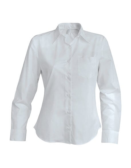 CHEMISE FEMME MANCHES LONGUES POPELINE 7daf997d690b