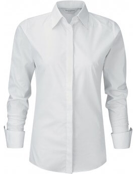 CHEMISE FEMME AJUSTEE STRETCH M.LONGUES