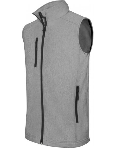GILET SOFTSHELL HOMME BASIC 3 COUCHES